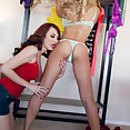 Alix Lynx and Kendra James - image