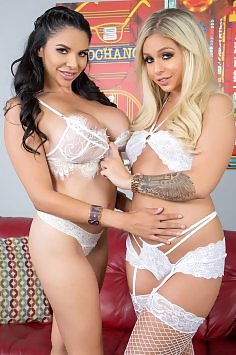 Missy Martinez and Madelyn Monroe